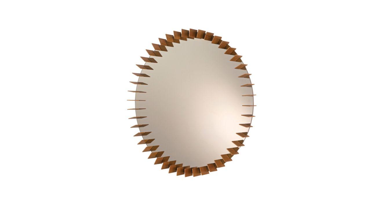 Turbine mirror roche bobois for Miroir design roche bobois