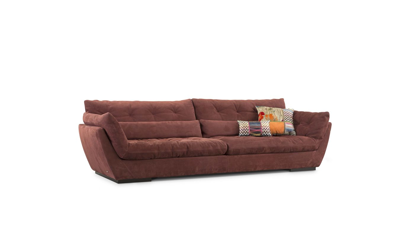 grand canap 4 places - Canape Cuir Convertible Roche Bobois