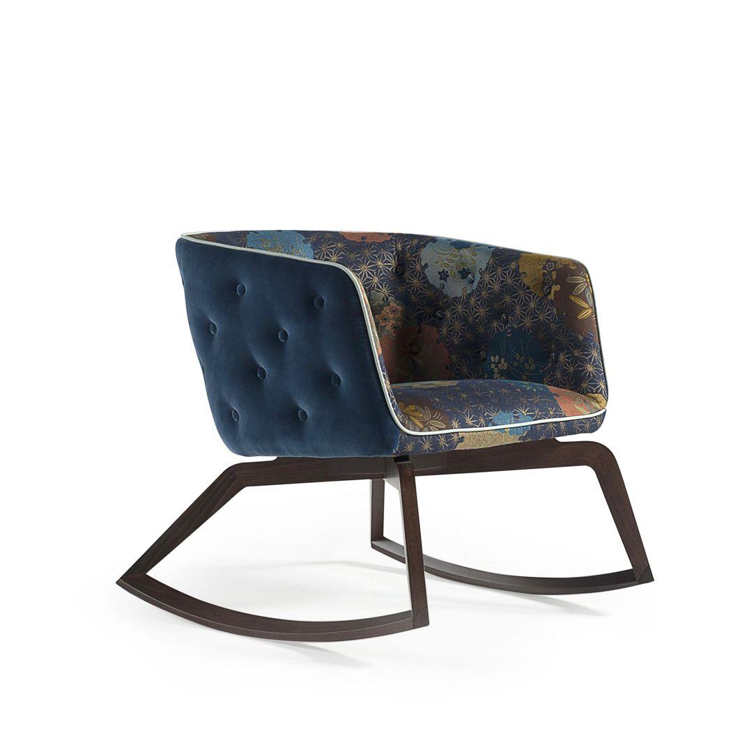 Quadrille Fauteuil Rocking Chair Roche Bobois