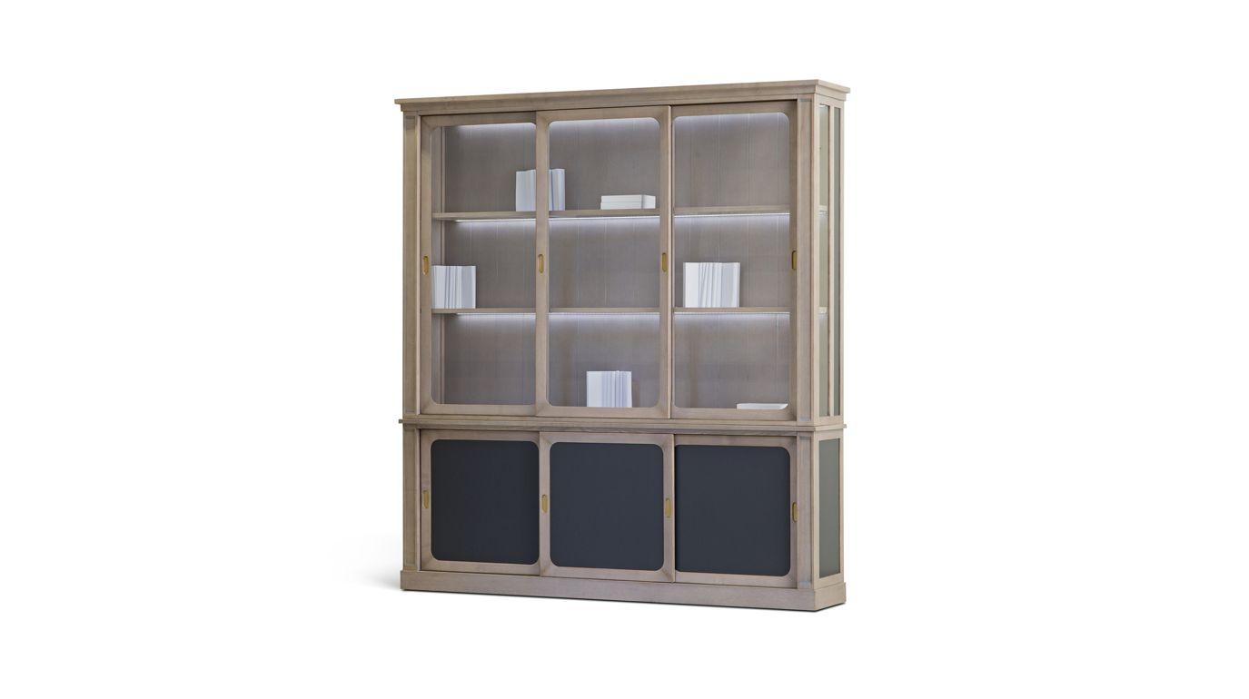 brasserie biblioth que collection nouveaux classiques roche bobois. Black Bedroom Furniture Sets. Home Design Ideas