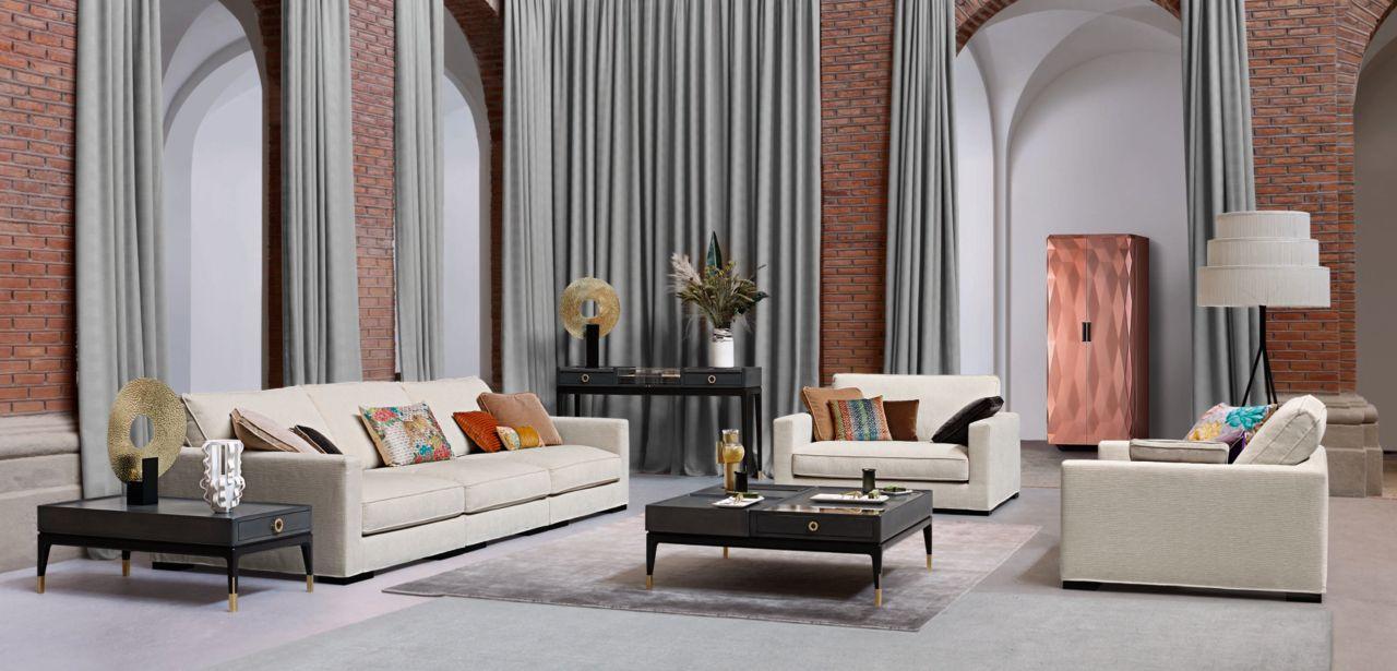 LONG ISLAND Modular sofa (Nouveaux Classiques collection ...