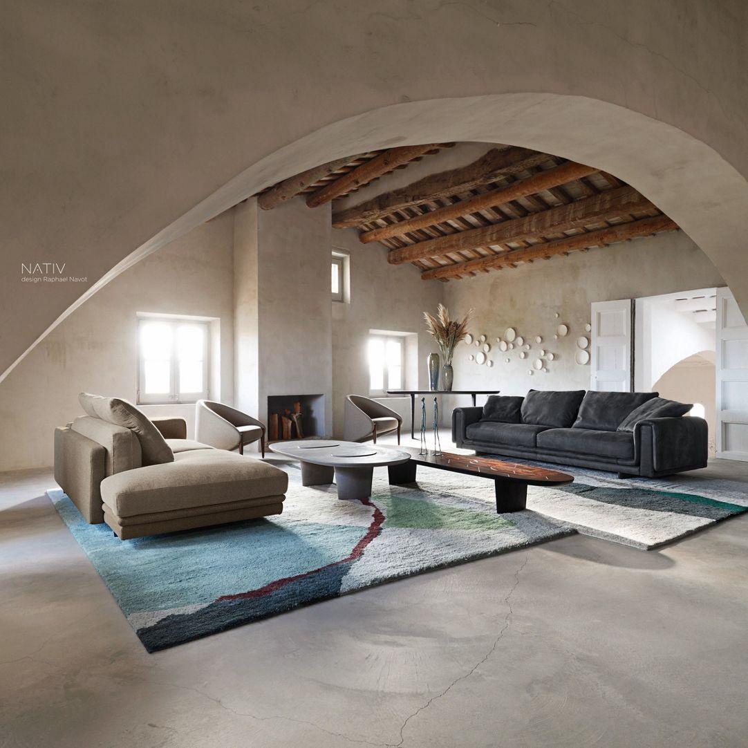 UNDERLINE Sofa 4-sitz - Roche Bobois