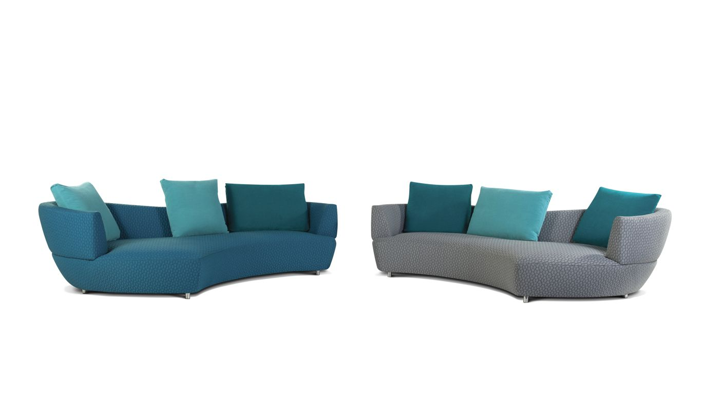 Digital Large Round 3 Seat Sofa Roche Bobois