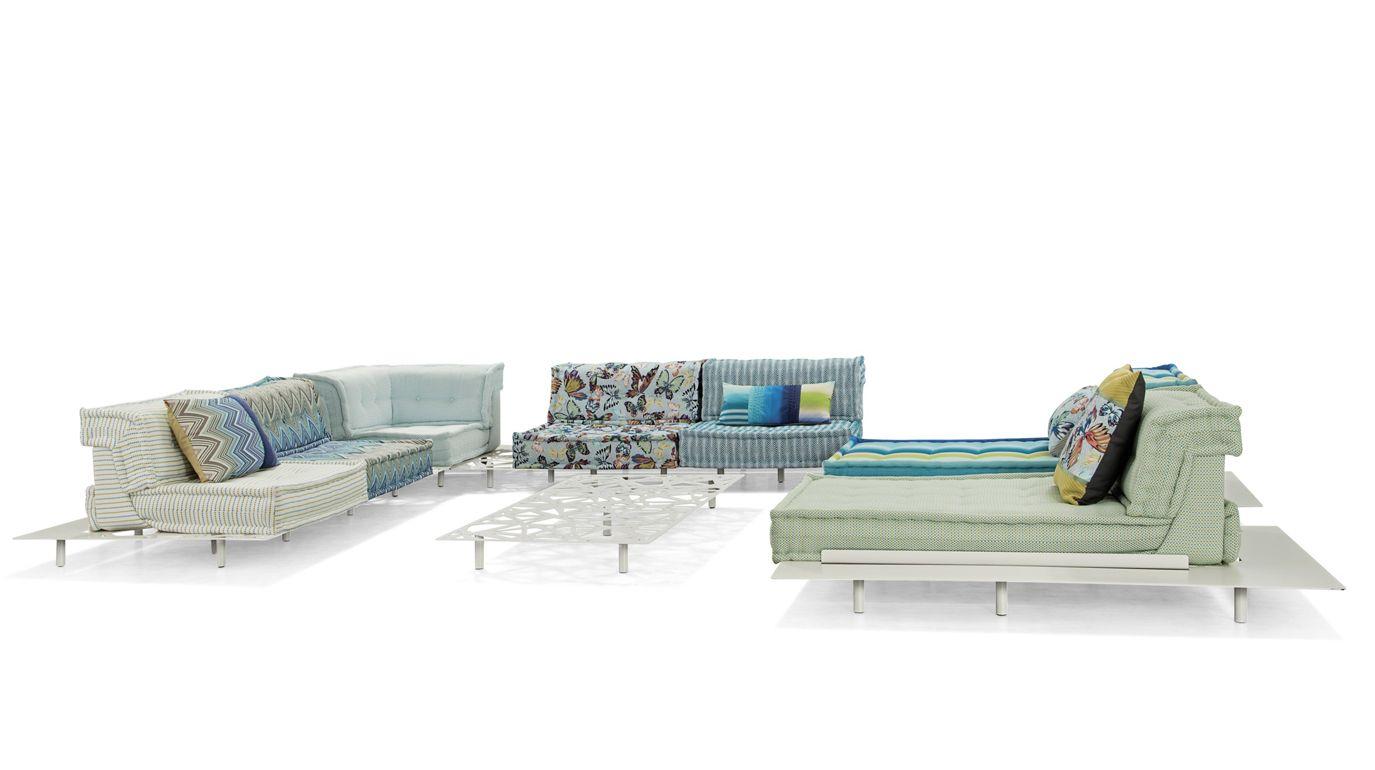 Mah Jong Outdoor Modular Sofa Roche Bobois