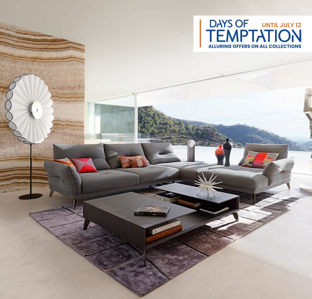 Poltrone E Sofa Gravellona Toce roche bobois paris - interior design & contemporary furniture