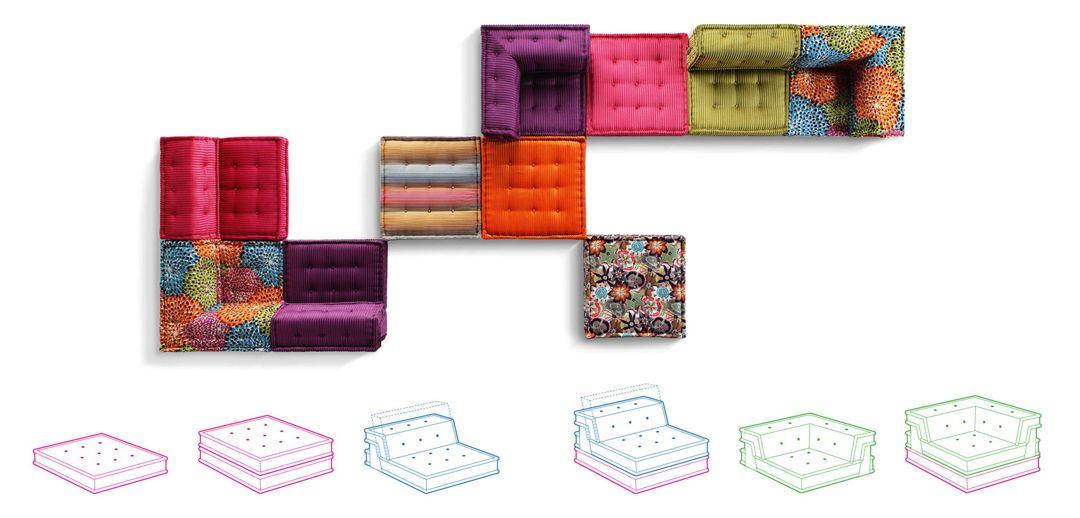 Mah jong sofa roche bobois - Mah jong roche bobois prix ...